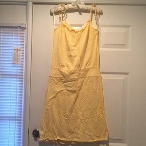 Ann Taylor LOFT Yellow Spring Dress, S